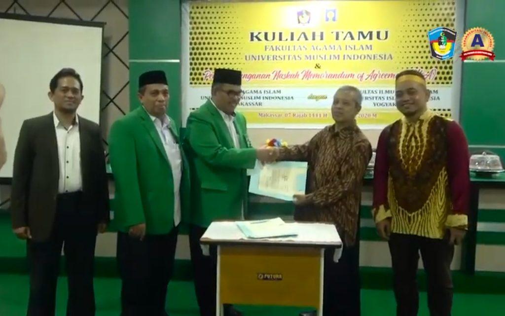 Kuliah Tamu Dan Penandatanganan Memorandum Of Agreement Moa